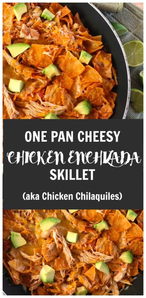 one pan dinner recipe, one pan, chicken, mexican dish, chicken enchiladas, easy dinner recipe