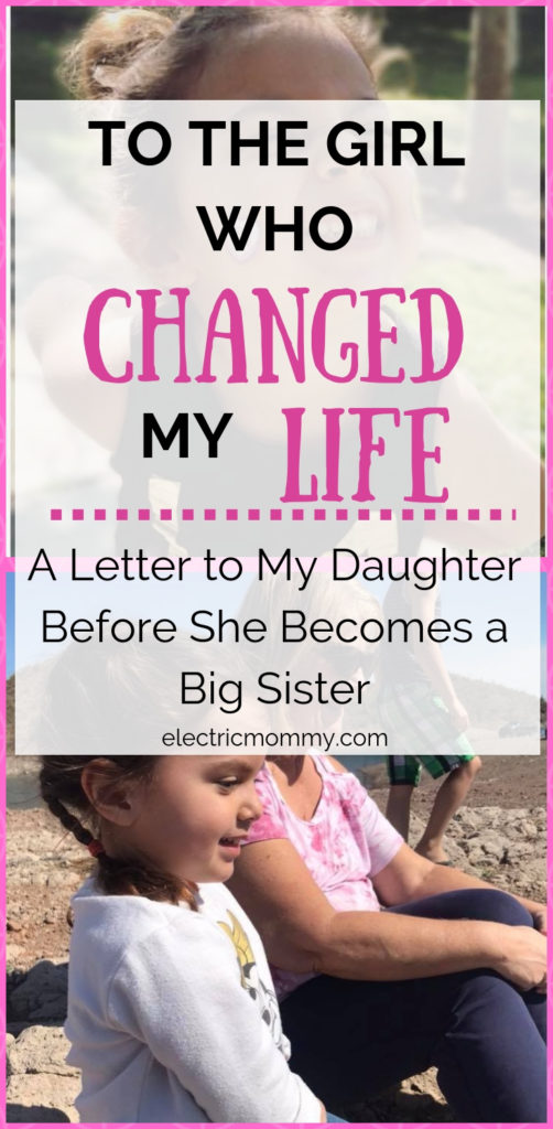 I never knew how much a person could change your life until I gave birth to my daughter. I will miss our time we had together but know that she will be the best big sister. | Open Letter to Daughter | Motherhood | Becoming a Big Sister | Preparing Toddler for Baby | Letter to Daughter #motherhood #girlmom #parenting #newbaby #bigsister