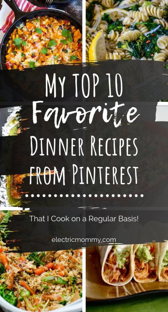 I wanted to share some recipes that are in my regular menu rotation. Most of them are easy and healthy and are perfect for the whole family. | Easy Weeknight Meals | Dinner Recipes | Easy Casseroles | Chicken Recipes | Family Dinner Recipes #dinnerrecipes #