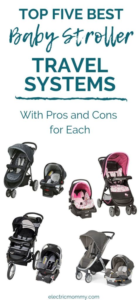 Our stroller travel system was the best gift I ever got! Since I found ours so useful, I did a ton of research and put together the top five for you. | Baby Travel System Stroller | Stroller Travel System Jogger | Best Baby Strollers #pregnancy #babyshowergiftideas #babyregistry #babyregistryitems #newborn #babyessentials