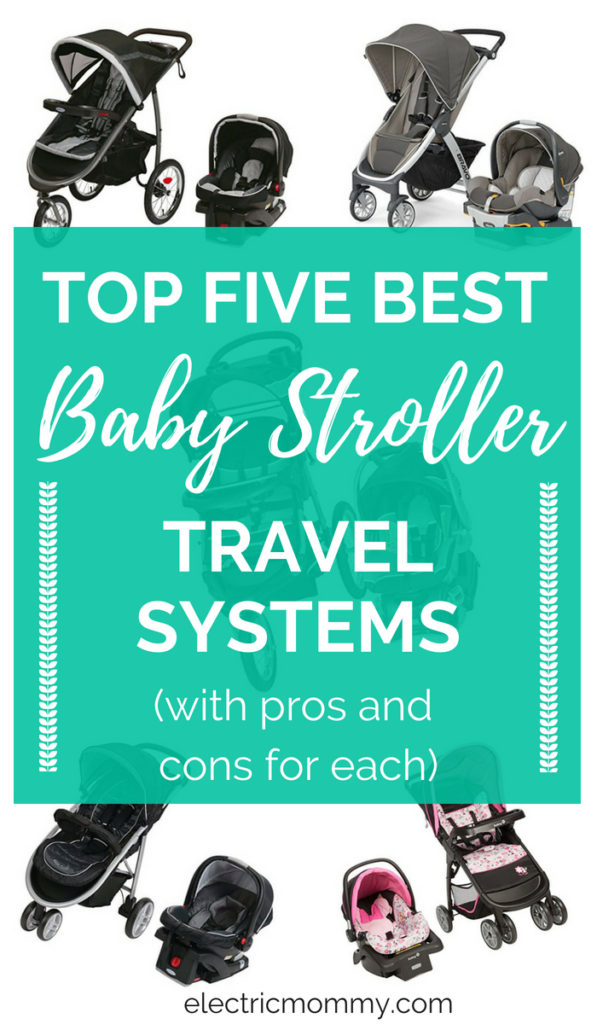 Baby stroller travel systems are the best! We got one as a gift for our first daughter and are still using it with the second baby! I did some research and here are my top five picks for the best stroller travel systems. | All in One Stroller System | Baby Car Seat and Stroller | Baby Car Seat System | Baby Car Seat Stroller #babystrollers #travelstrollers #babylife #pregnancy