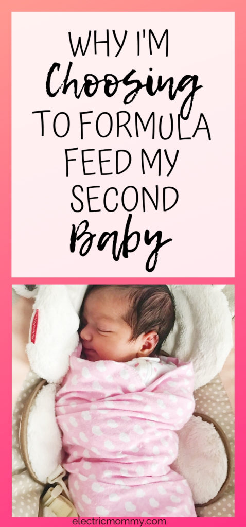 When I decided that I wasn't going to breastfeed my second daughter, I felt like I was the only one. With so much pressure from the outside world, I think it's so important to listen to your body, your doctors and do what's right for you and your baby. Here is my story about why I decided to formula feed my second daughter. | Are Formula Fed Babies Healthy? | Formula vs Breastfeeding #formulafeeding #newbornbaby #breastfeeding #pregnancy #fedisbest #baby #newborn #feedingschedule
