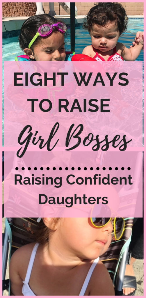 It isn't easy raising girls in today's world. With so much pressure from society on how we should act and look, it can be hard to instill confidence and self-worth in our child. Here's eight ways I am going to make this happen for my girls. | Raising Girls | Parenting Girls | Girl Body | Self Image | Self Worth #motherhood #daughters #motherdaughter #raisinggirls #girlmom #selfworth