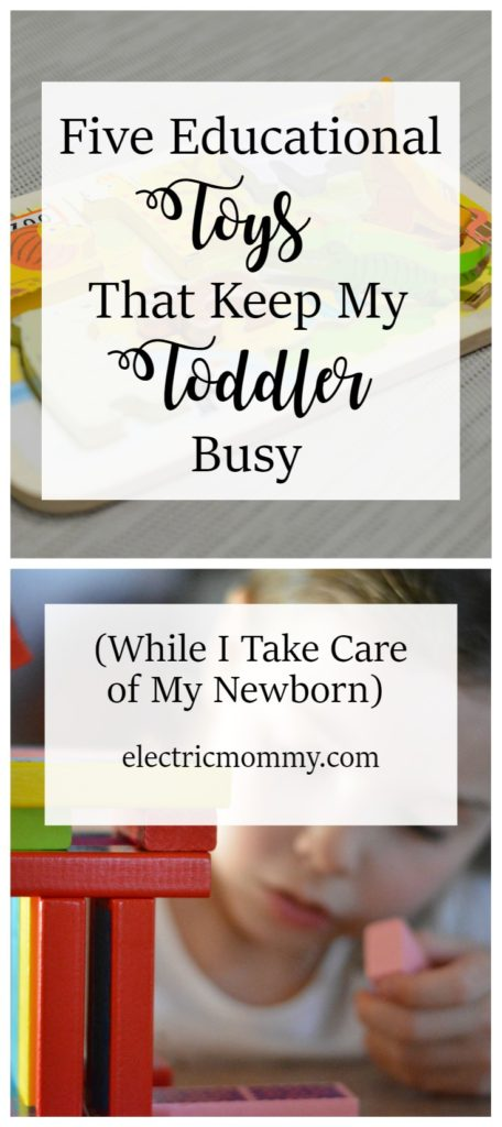 Five Educational Toys That Keep My Toddler Busy, Kid Activities, Screen Free Parenting
