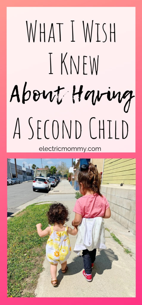 What I Wish I Knew About Having a Second Child - Everything went so smooth with my oldest daughter. It made me not even have to think twice about having another child. However, two has proven much tougher than I thought. Mom with Anxiety | Postpartum Anxiety | Parental Anxiety | Motherhood | Parenting #motherhood #momlife #twoistough #momminainteasy #postpartumdepression