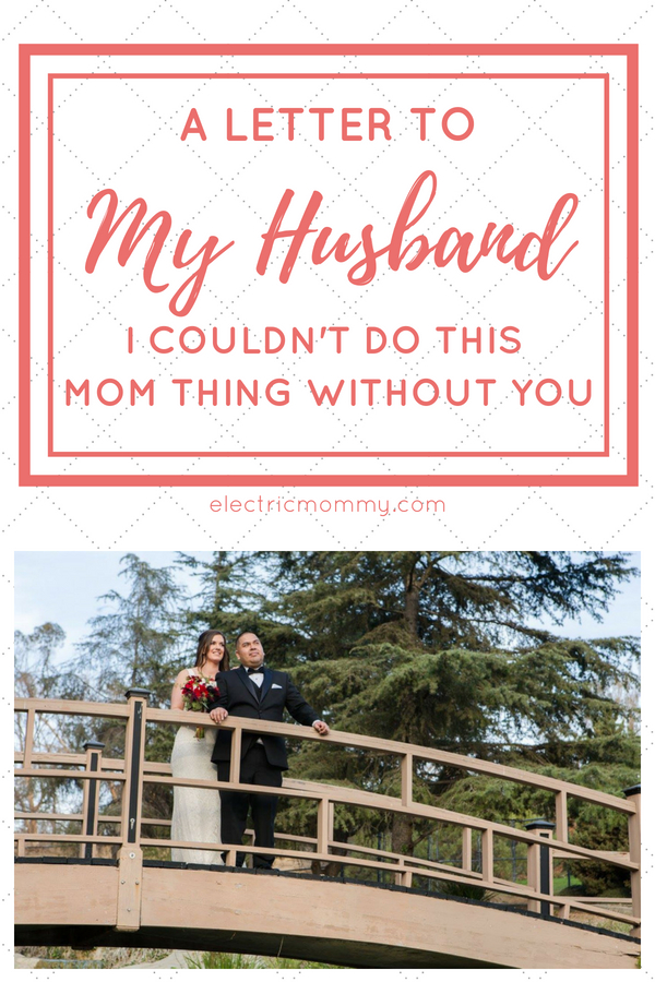 A Letter to My Husband, I Couldn't Do This Without You: From a Mom and Wife Adjusting to Life with Two Kids. I slipped into depression after our second baby was born and wanted to share an open letter to my husband where I hope to express how much I appreciate what he did for me during that time. | Letter to Husband During Hard Times | Letter to Husband From Wife | Thank You Letter to Husband #parenting #lettertohusband #newparents #postpartumdepression #depression