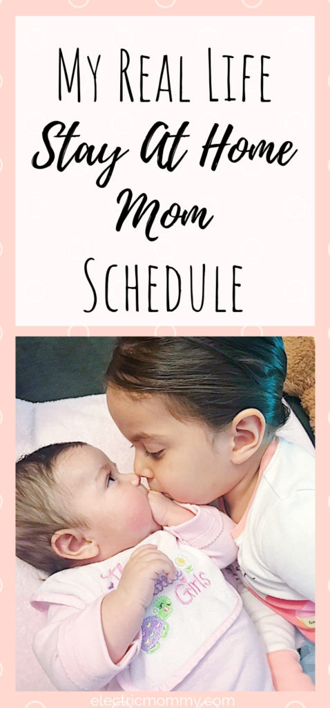 Being a stay at home mom is by far the hardest job I've ever had. Having a (loose) routine seems to help things go much more smooth. Here is a peek into our day! | Becoming a Stay at Home Mom | Advice for Stay at Home Moms | Stay at Home Mom Routine #sahm #motherhood #momlife #momminainteasy