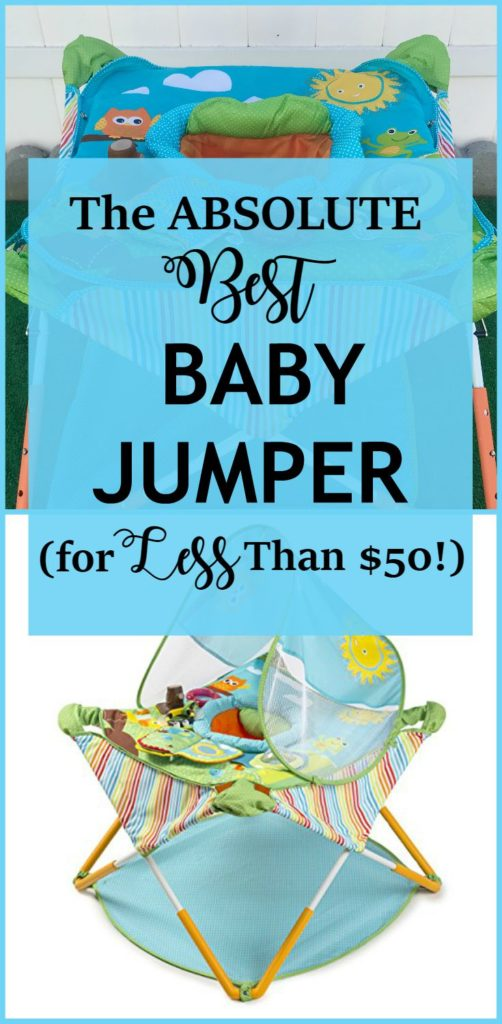 The Absolute Best Baby Jumper - I wanted to share with you my favorite baby product right now. My baby and I love this bouncer so much!