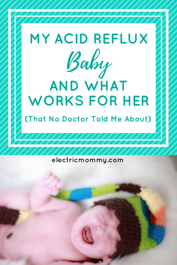 My Acid Reflux Baby and What Works for Her | Infant Reflux Formula Feeding - It's tough and it takes time to find out what works for a baby with acid reflux. Here is what worked for our daughter. #infantreflux #newborn #colic #baby reflux #