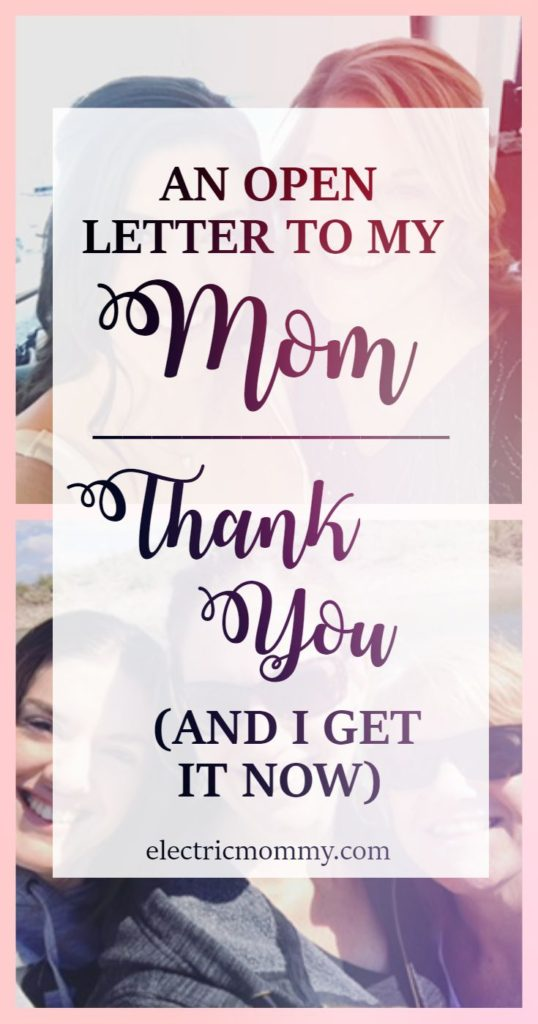 An Open Letter to My Mom - Thank You! My mom raised us on her own and I have a new found respect for everything she did now that I'm a mom. Motherhood | SAHM | Mother Daughter | Mother's Day