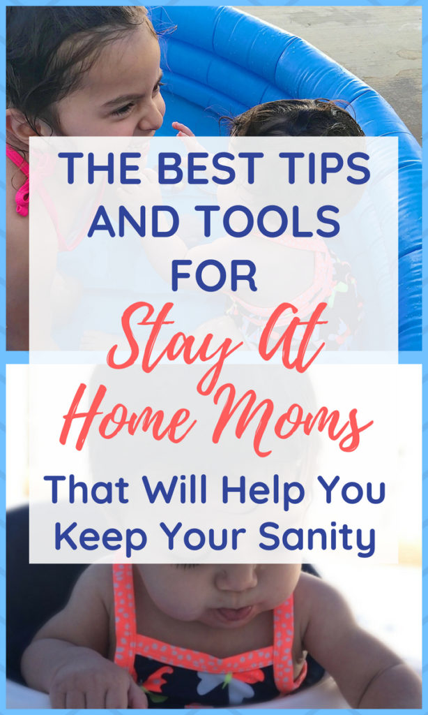 These are the most important things I've learned about getting through the day as a stay at home mom (without losing my mind). | Advice for Stay At Home Moms | Be A Stay At Home Mom | Self Care for Moms #motherhood #stayathomemom #sahm #momlife #sahmlife