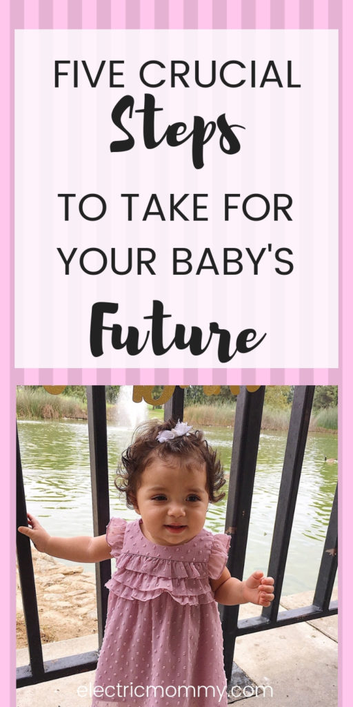 I know we don't typically think about our child's financial future right away but there are some easy things you can do today to help them get started on the right foot later! Baby Savings Account | Planning for Baby's Future | Child Investment Plans | Child Savings Account #baby #newborn #pregnancy #babysfuture #parenting