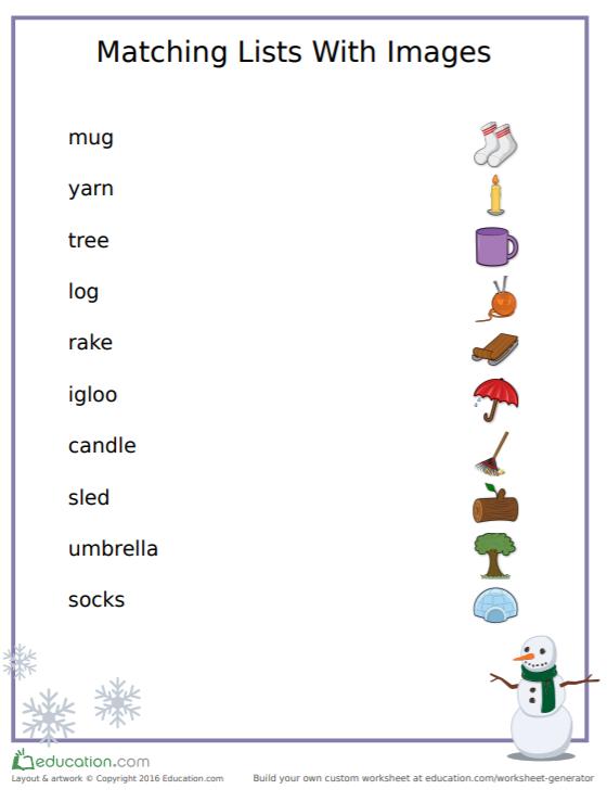 Holiday Printable Game | Free Printables | Preschool Printables | Free Printable Matching Worksheet | Free Printable Matching Games for Toddlers